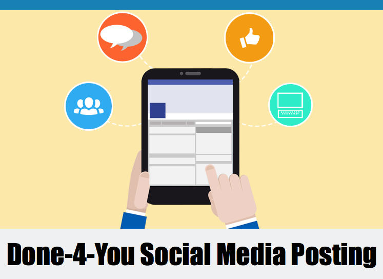 Social Media Posting Program For Small Businesses