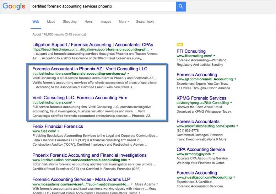 Local SEO for Accountants