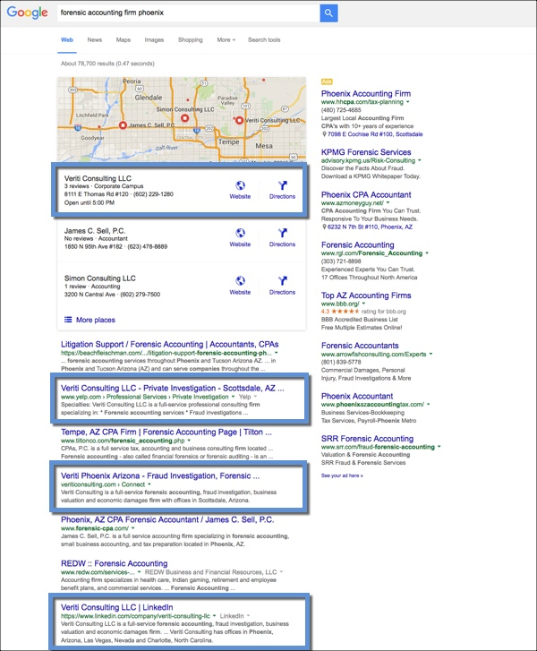 Local SEO for Accounting Firm