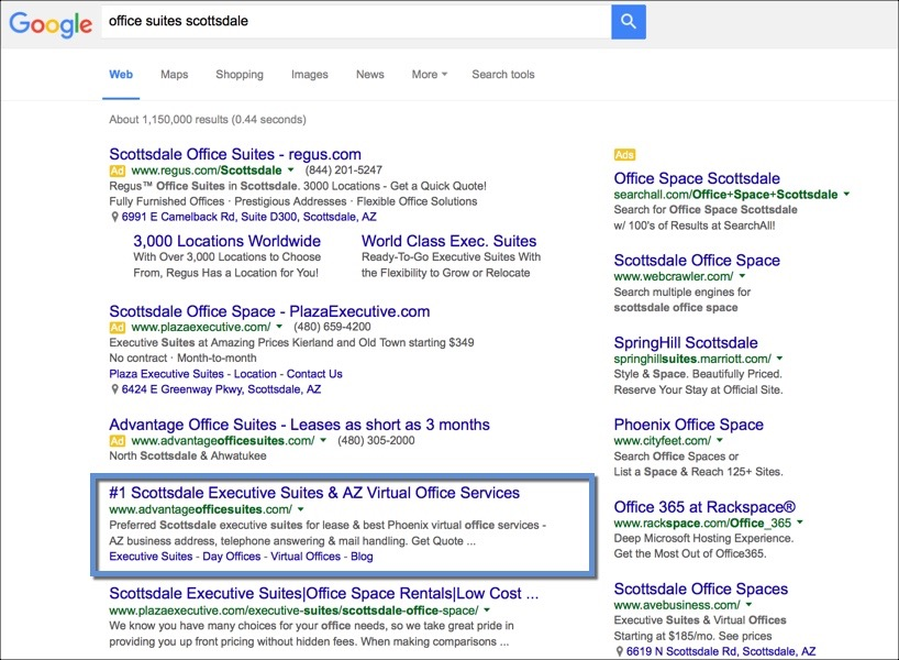 Local SEO for Executive Office Space