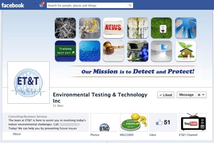 Facebook Branding for Mold Company