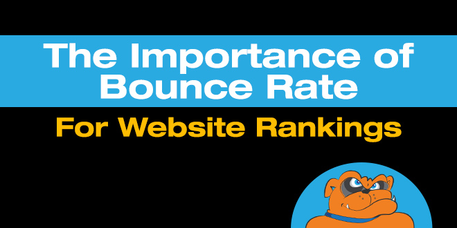 importance of bounce rate for website performance