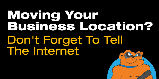 moving your business means internet updates