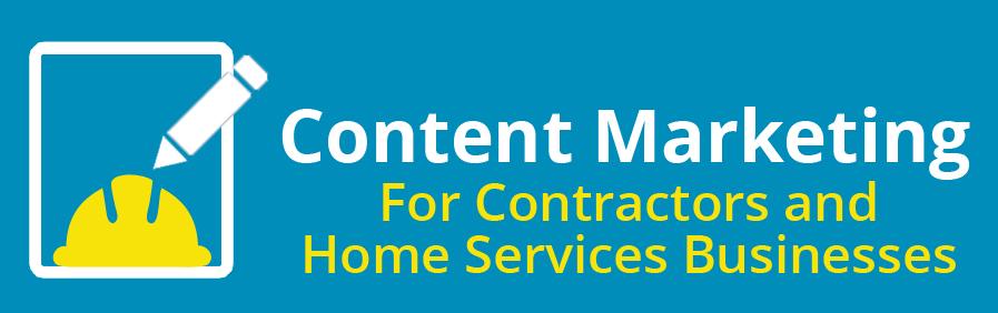 content marketing for contractors