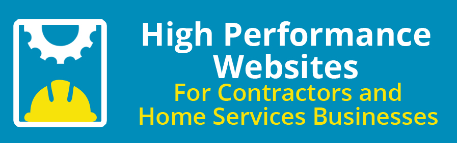 websites for contractors home services business