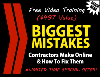 internet marketing tips for contractors