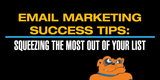 email marketing success tips