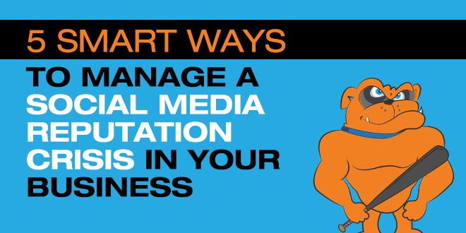 manage social media reputation