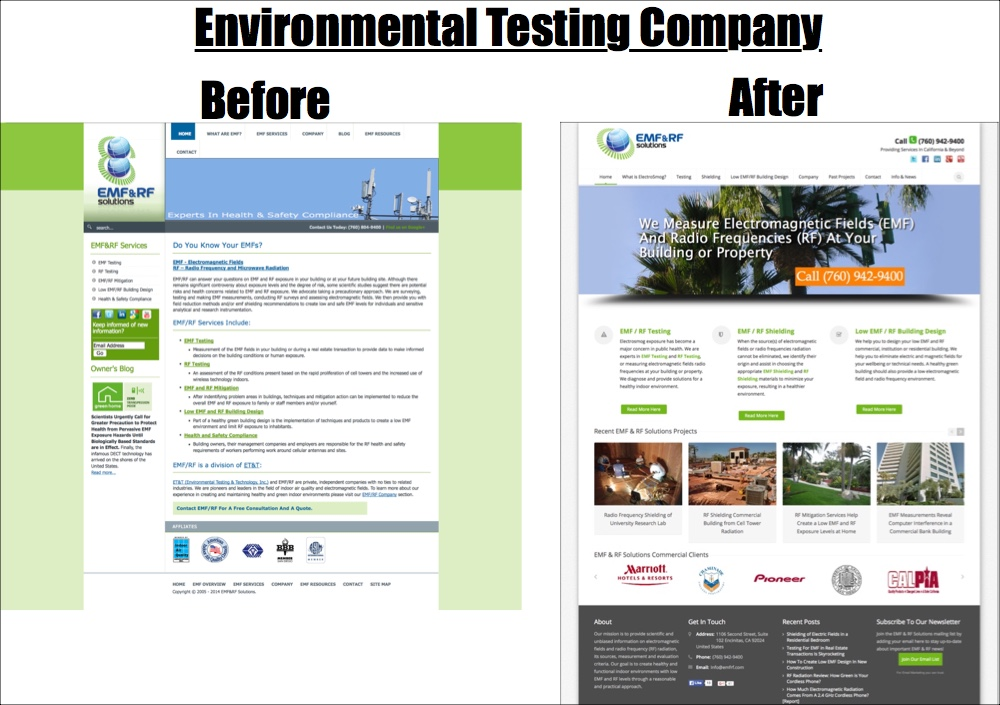 environmental testing company website