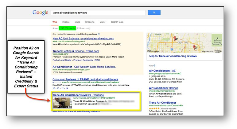 heating and cooling video seo