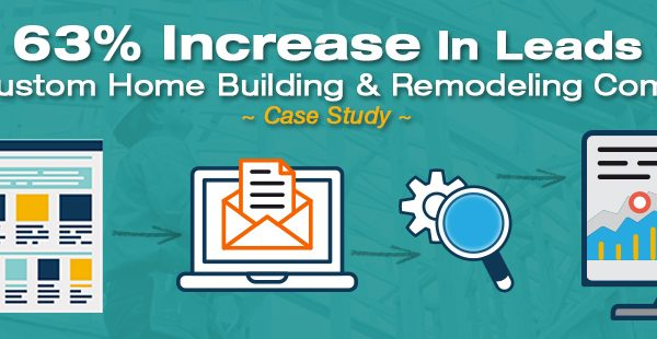[Case Study] Custom Home Building & Remodeling Company Increases Lead Generation by 63% With Proven Digital Marketing Strategies