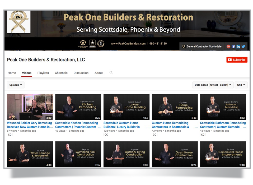 youtube lead generation for general contractors