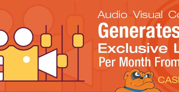 [CASE STUDY] 249% More Organic Traffic And 30+ Exclusive Leads Generated Monthly For Small Audio Visual Company