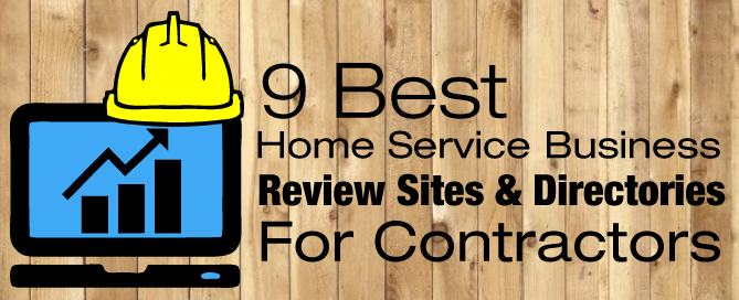 9 best home service business contractor review sites directories