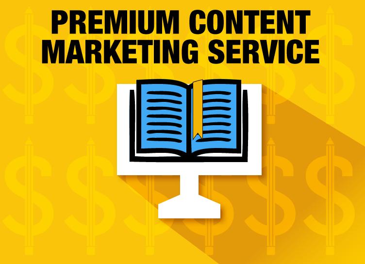 Premium Content Marketing Service