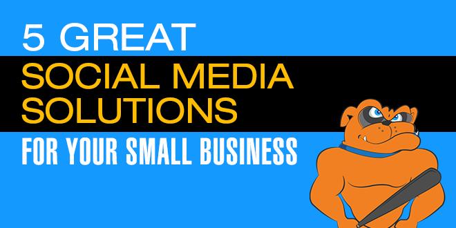 5 great social media solutions