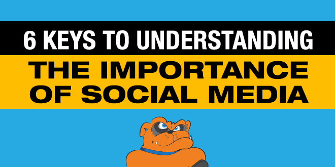 6 Keys to Understanding The Importance of Social Media