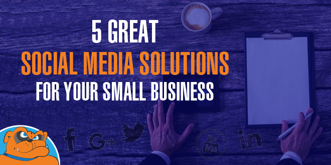 5 great social media solutions