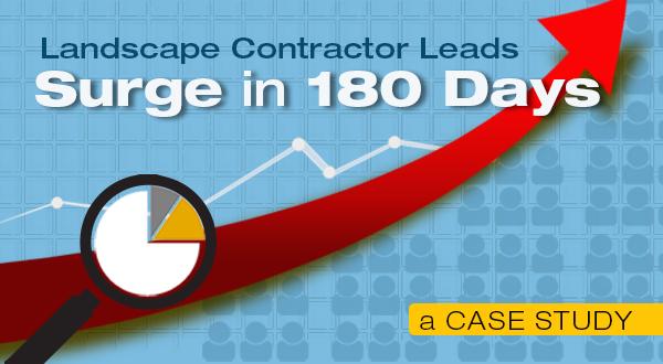 Landscape Contractor Leads Surge [180 Day Case Study]