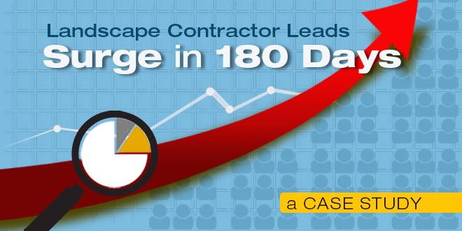 landscape contractor leads case study
