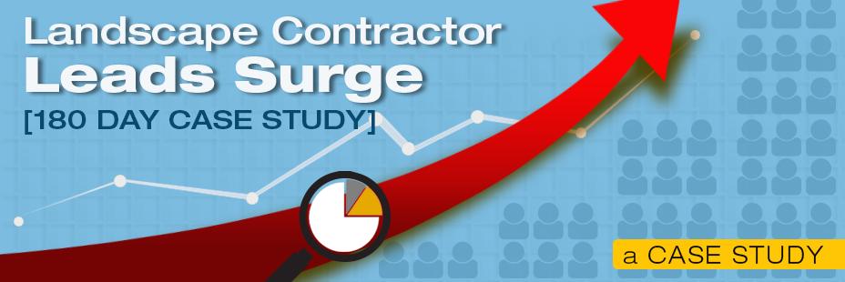 landscape contractor leads surge
