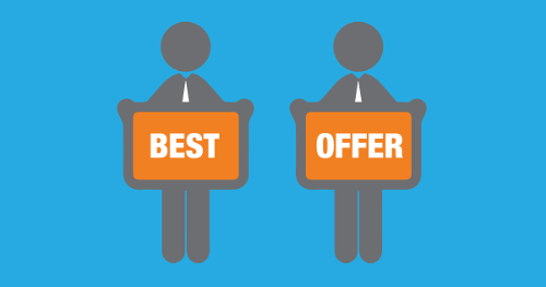 creating your best offer