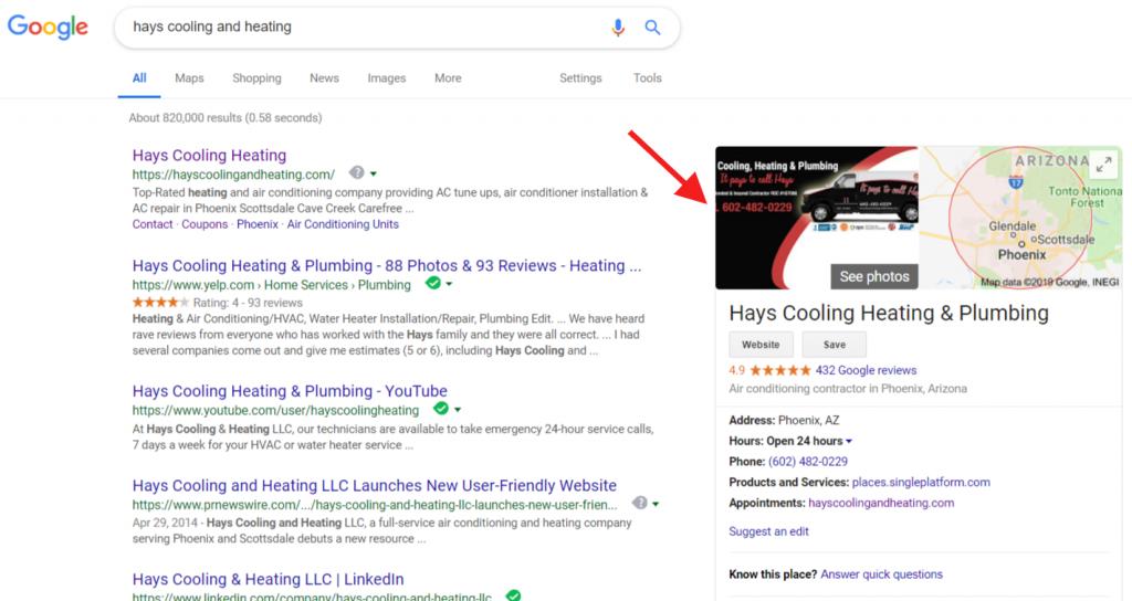 consistent google referral search