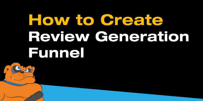 customer review generation funnel