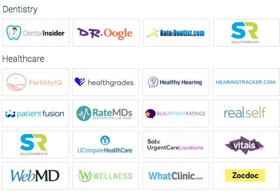 top dental review sites