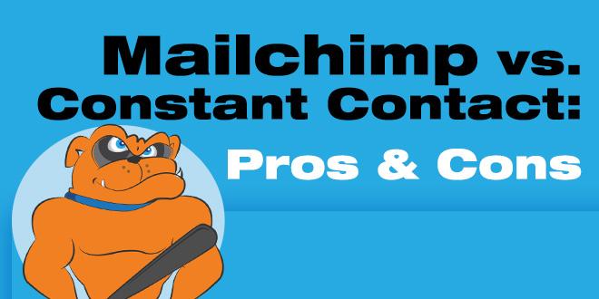 Mailchimp vs Constant Contact