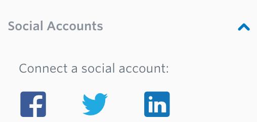 share email newsletter on social media
