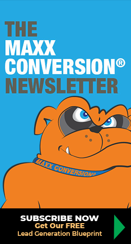 Maxx Conversion newsletter