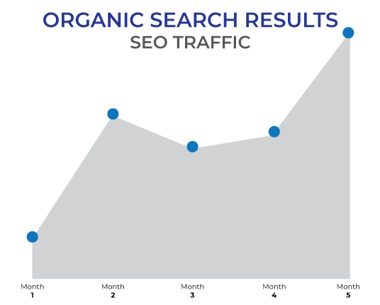 seo organic traffic increase